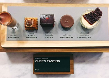 Artisanal Dessert Fix: Chef's Tasting at Dandelion Chocolate