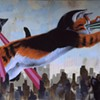 """Artists Angry Over Replacement of """"Kittenzilla"""" Mural"""