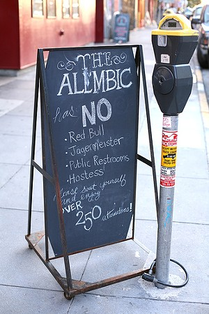 As of yesterday, Alembic is serving lunch daily. - LDANDERSEN/FLICKR