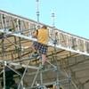 Assault Suspect Climbs Up Building on Embarcadero, Halts Traffic (Update)
