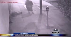 Asshole beats homeless man - KTVU