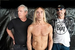 SOPHIE HOWARTH - At 64, Iggy Pop is working on new, non-rock solo recordings as well as new Stooges songs.