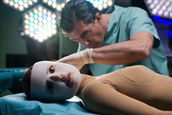 At last, a mad scientist with aesthetics: Elena Anaya and Antonio Banderas in The Skin I Live In.