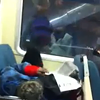Guy Reading Newspaper Thinks Crowded BART Is His Personal Living Room