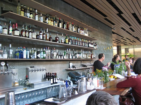 At Spoonbar in Healdsburg, Beattie rings changes on cocktails classics. - LOU BUSTAMANTE