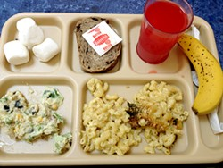 ANNA ROTH - At St. Anthony's, there is such a thing as a free lunch.