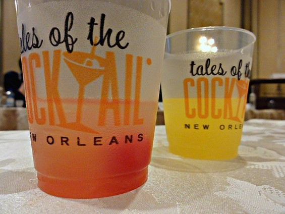 At this year's Tales of the Cocktail in New Orleans, the Harvey Wallbanger (right) went  up against Sex on the Beach. The Wallbanger came out on top. - EDITOR B/FLICKR