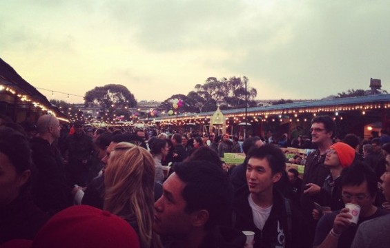 Atmosphere at the Night Market. - ANNA ROTH