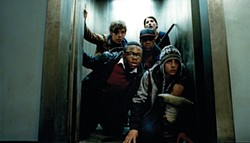 Attack the Block: ETs vs.hooligans.