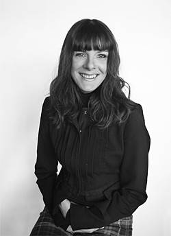 SPENCER HANSEN - Author and accordionist Linda Robertson