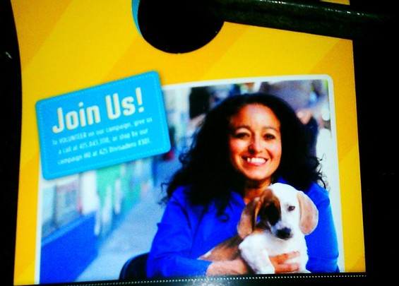 Awwwwwwww. Can I vote for the puppy?