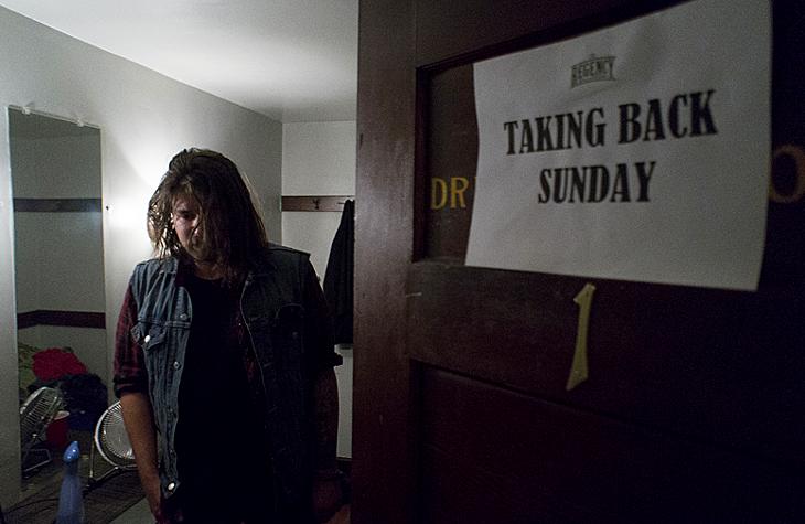 Backstage with Taking Back Sunday