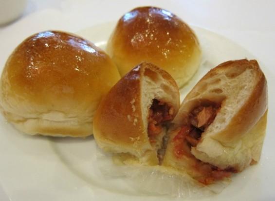 Baked b.b.q. pork buns