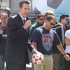 Gavin Newsom Wants You To Watch the World Cup at Civic Center