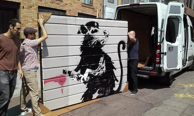 SAVE THE BANKSY