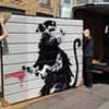 "Banksy's ""Haight Street Rat"" is Coming Home to San Francisco"