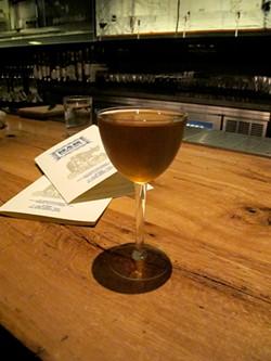 LOU BUSTAMANTE - Bar Agricole's Moonraker.