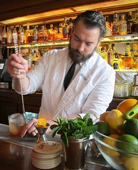 Bar manager Isaac Shumway stirring up delicious trouble - LOU BUSTAMANTE