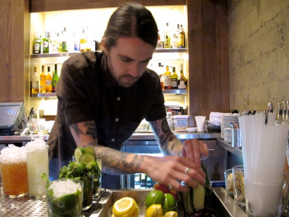 Bar manager Kevin Dowell - LOU BUSTAMANTE