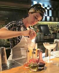 Bar manager Nora Furst - LOU BUSTAMANTE