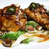 No. 30: Barbacco's Chicken Thighs with Almonds and Olives