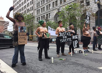 Bare-Breasted Women Stop Traffic to Protest Police Killings of Black Women