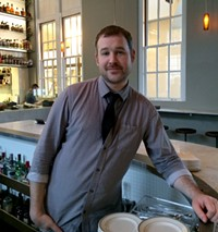 Barman Will Popko at Hard Water - LOU BUSTAMANTE