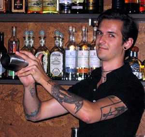 Bartender Chris Lane.