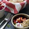 Basil Strawberry Shortcake, Animal Hugs, and the Nanny Cooks Vegan!