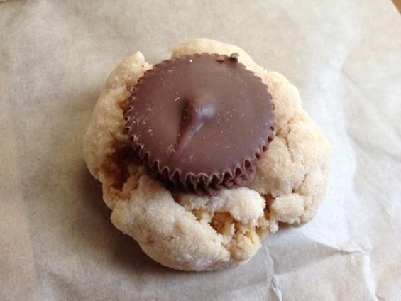 Batter Bakery's peanut butter blossom. - TAMARA PALMER