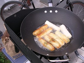 BBC mics will be on hand to pick up Lumpia Cart's sizzle. - J. BIRDSALL