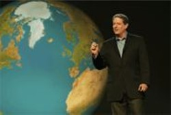 ERIC  LEE - Be Afraid, Be Very Afraid: Al Gore scares us only because he loves us.