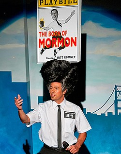 RICK MARKOVICH - Been hair, done that: Beach Blanket Babylon parodies The Book of Mormon