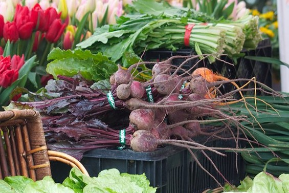 Beets are a year-round presence at local markets. - SEAN TIMBERLAKE