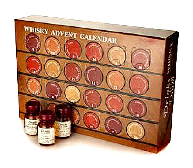 Countdown To Christmas Like An Adult With The 2013 Whiskey