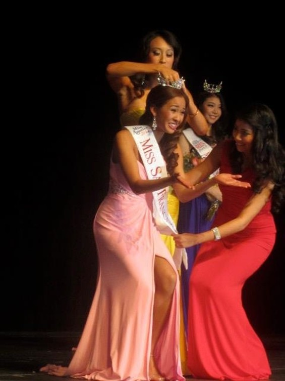 Being Crowned Miss San Francisco