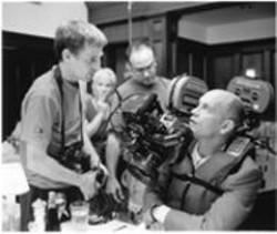 Being John Malkovich director Spike Jonze, left, is among the - filmmakers who met with ICT officials.