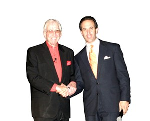 Ben Altadonna, seen here with Ed McMahon amazingly enough, is not the state's favorite chiropractor