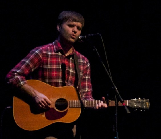 Ben Gibbard at Palace of Fine Arts last night.