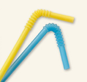 Bendy straws of the sort Sarah Palin's contract demanded can be had for $8.25 for a package of 160, incidentally