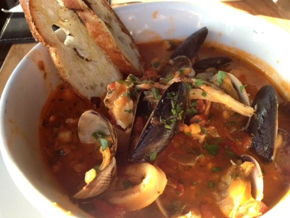 Beretta's Tuesday-only cioppino. - JULIE KRAMER