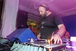 Berlin DJ Prosumer packed an underground party.