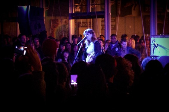 Best Coast at Cal Academy last night. - STIAN RASMUSSEN