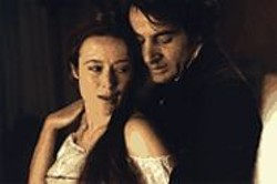 DAVID  APPLEBY - Between the Sheets ... of Paper: Jennifer Ehle and - Jeremy Northam as 19th-century poets.