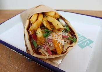 Between Two Slices: Souvla's Greek Sandwich
