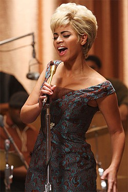 Beyoncé Knowles' purr never comes close to approximating Etta James' growl.