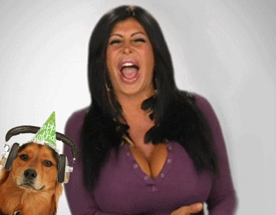 Big Ang and friend.
