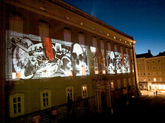 "Big Art Group brings the same projection capability used in this shot from ""The People: Salzburg."""
