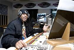 Big Von on the air at KMEL.