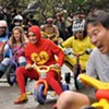 Big Wheel Keep on Rollin': A Tricycle Epiphany Spurs a City Tradition